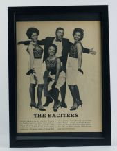 1960s Print of The Exciters